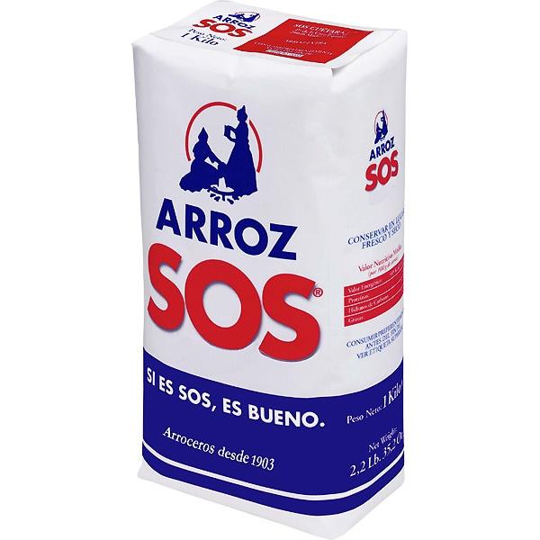 ARROZ SOS REDONDO 1 Kg.