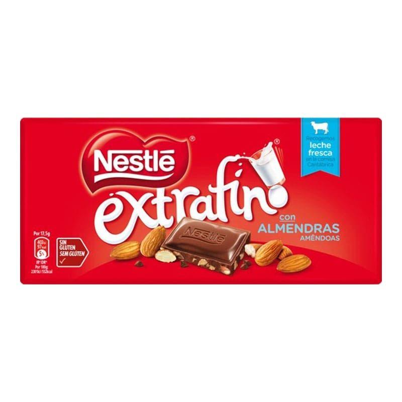 CHOCOLATE NESTLE CON ALMENDRAS 123 g.