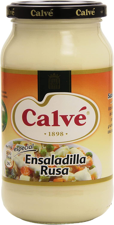 MAYONESA CALVE ENSALADILLA RUSA 450 ml.