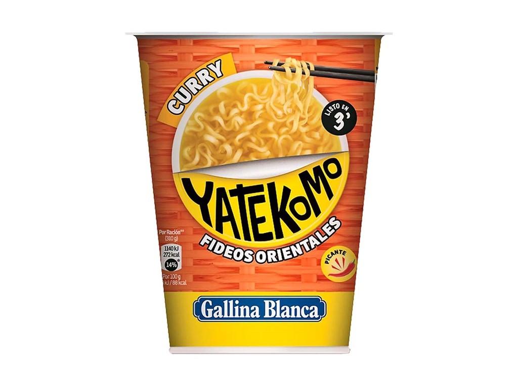 YATEKOMO GALLINA BLANCA VASO CURRY 61 g.