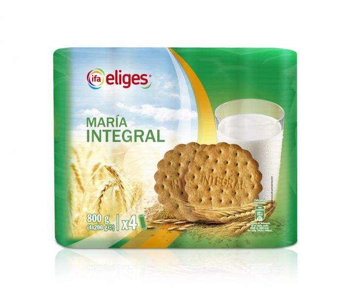 GALLETA MARIA INTEGRAL IFA ELIGES 800 g.