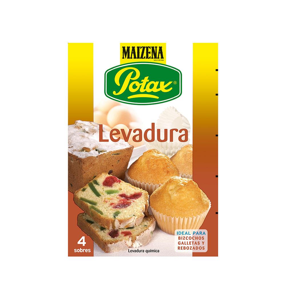 LEVADURA POTAX ESTUCHE 4 SOBRES - 38 g.