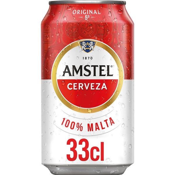 LATA CERVEZA AMSTEL 33cl.