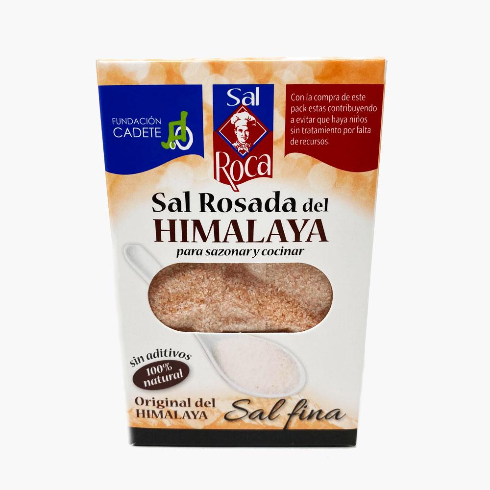 SAL ROSA DEL HIMALAYA ROCA 500g.