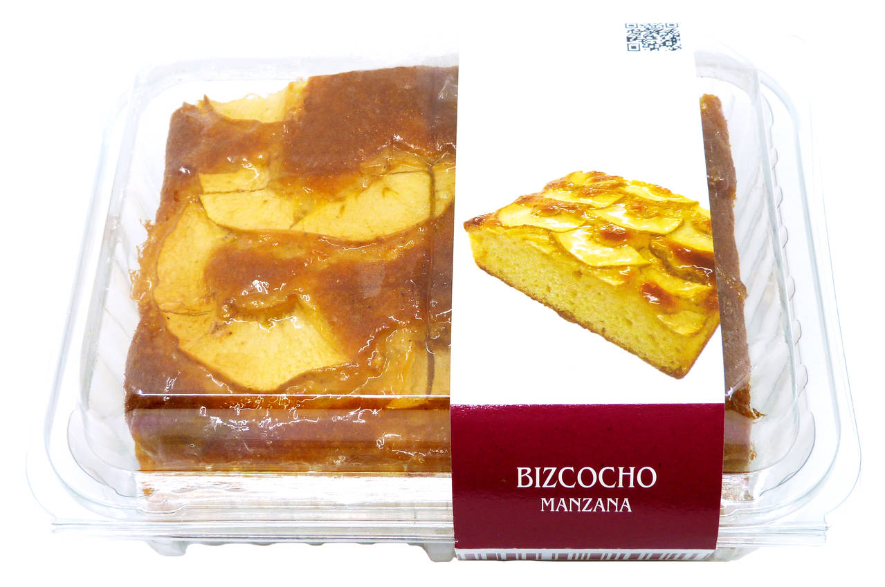 BIZCOCHO PANAMAR CON MANZANA 400g.