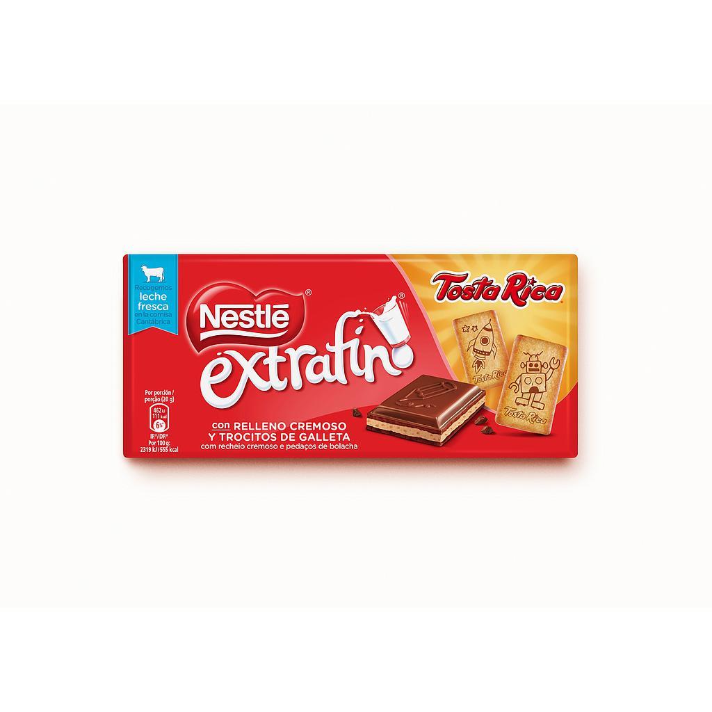 CHOCOLATE NESTLE TOSTA RICA 120g.
